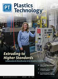 Plastics Technology Magazine Cover